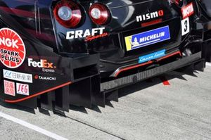 #3 B-Max Racing team Nissan GT-R rear detail