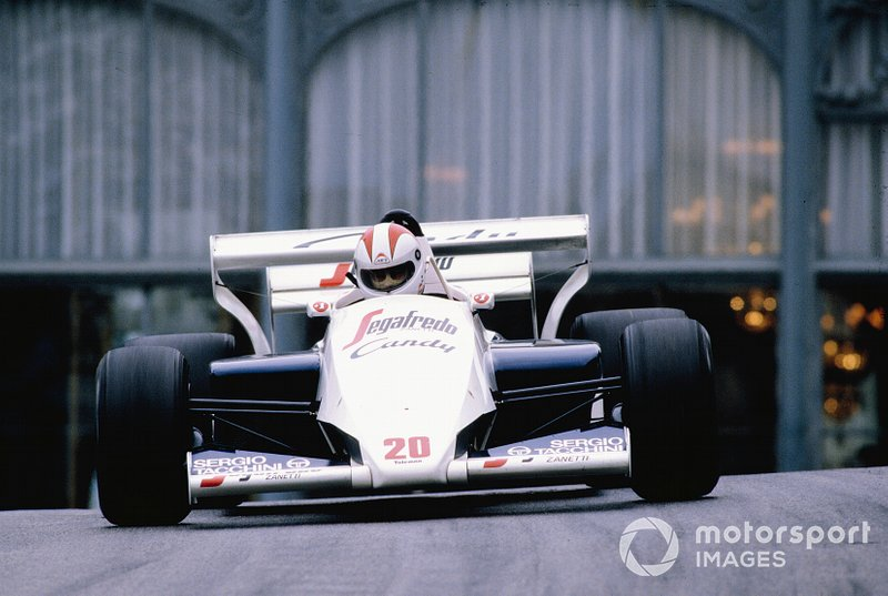 Johnny Cecotto, Toleman TG184 Hart