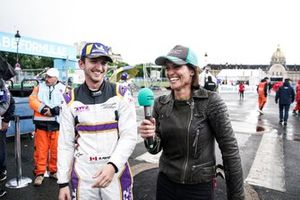 Stefan Rzadzinski, TWR TECHEETAH, is interviewed by Presenter Amanda Stretton
