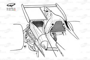 Ferrari 312B2 arka kanat