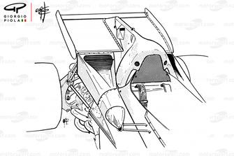 Ferrari 312B2 rear wing