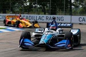 Takuma Sato, Rahal Letterman Lanigan Racing Honda, Ryan Hunter-Reay, Andretti Autosport Honda