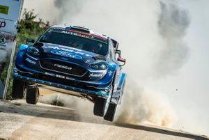 Элфин Эванс и Скотт Мартин, M-Sport Ford WRT, Ford Fiesta WRC