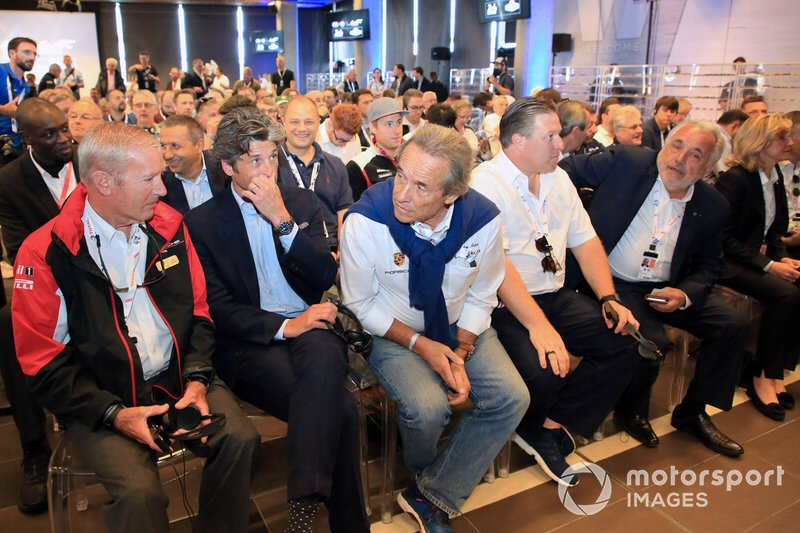 Patrick Dempsey, Dempsey Proton Competition, Jacky Ickx, Zak Brown, Executive Director, McLaren,