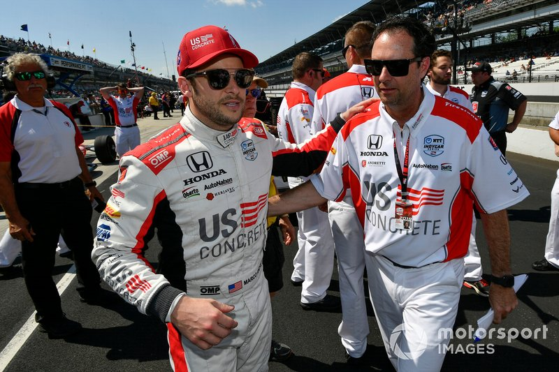 Marco Andretti, Andretti Herta with Marco & Curb-Agajanian Honda, Bryan Herta