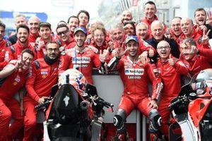 Andrea Dovizioso, Ducati Team. Danilo Petrucci, Ducati Team
