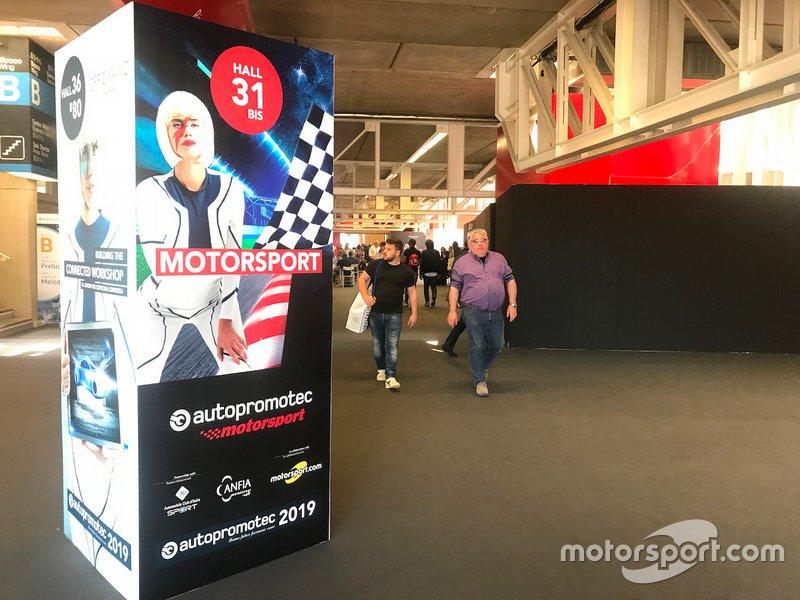 Locandina Autopromotec Motorsport
