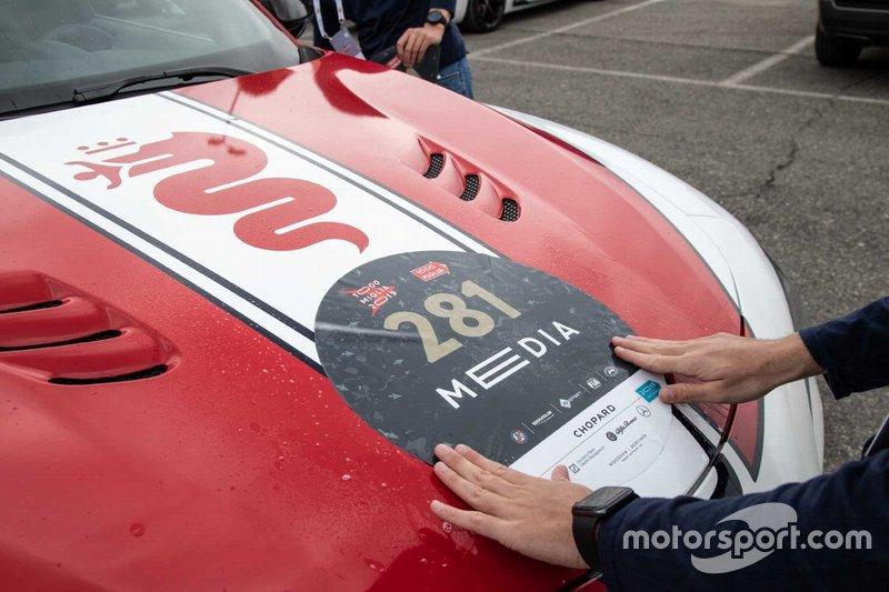 Stickering dell'Alfa Romeo Stelvio #281