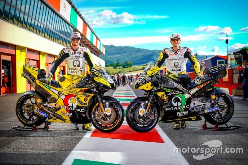 Jack Miller y Francesco Bagnaia, nueva decoración Pramac Racing