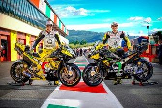 Jack Miller, Pramac Racing, und Francesco Bagnaia, Pramac Racing, mit ihre Bikes im Lamborghini-Design