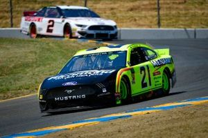Paul Menard, Wood Brothers Racing, Ford Mustang Menards / Richmond, Brad Keselowski, Team Penske, Ford Mustang America's Tire