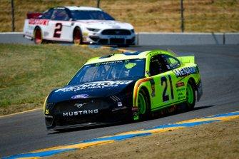 Paul Menard, Wood Brothers Racing, Ford Mustang Menards / Richmond, Brad Keselowski, Team Penske, Ford Mustang America's Tire
