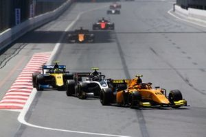 Jack Aitken, CAMPOS RACING Nyck De Vries, ART GRAND PRIX and Luca Ghiotto, UNI VIRTUOSI