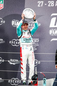 Podium: Jean-Karl Vernay, Leopard Racing Team Audi Sport Audi RS 3 LMS