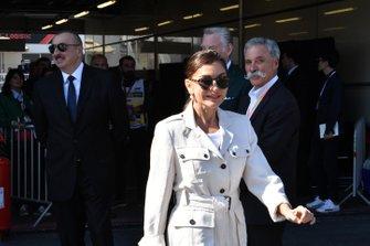Mehriban Aliyeva, esposa del President de Azerbaiyán Ilham Aliyev