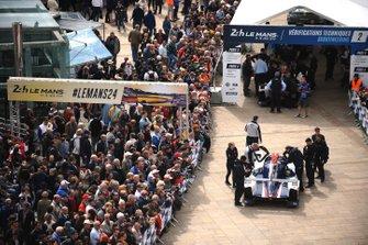 Автомобиль Ligier JSP217 Gibson (№32) команды United Autosports