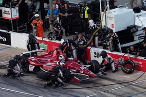 Ed Carpenter, Ed Carpenter Racing Chevrolet, pit stop