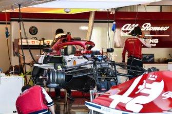 Suspensión delantera de Alfa Romeo Racing C38
