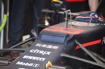 Max Verstappen, Red Bull Racing, technisch detail