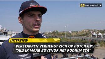 Max Verstappen over Grand Prix van Nederland 2020