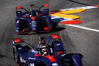 Robin Frijns, Envision Virgin Racing, Audi e-tron FE05, Sam Bird, Envision Virgin Racing, Audi e-tron FE05