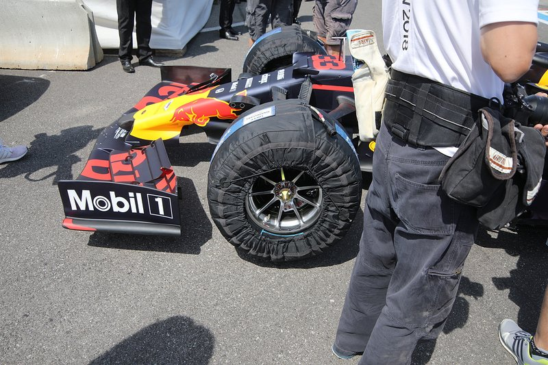 Detalle frontal del Red Bull Racing RB15