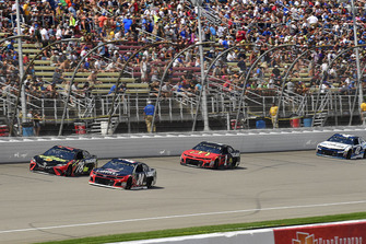 William Byron, Hendrick Motorsports, Chevrolet Camaro Liberty University, Martin Truex Jr., Furniture Row Racing, Toyota Camry 5-hour ENERGY/Bass Pro Shops, and Jamie McMurray, Chip Ganassi Racing, Chevrolet Camaro McDonald's/Cessna