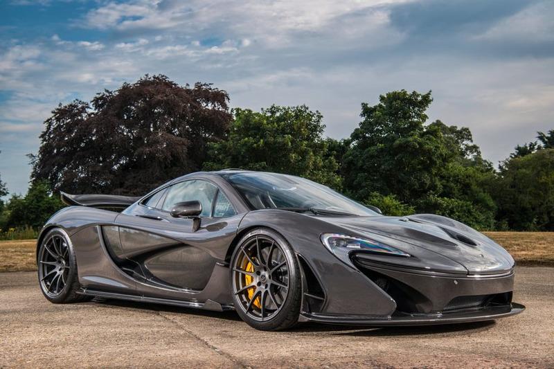 McLaren P1 Дженсона Баттона
