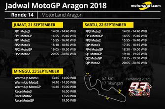 Jadwal MotoGP Aragon 2018