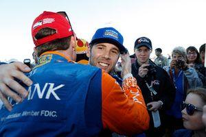 Campeón Scott Dixon, Chip Ganassi Racing Honda, Ed Jones, Chip Ganassi Racing Honda