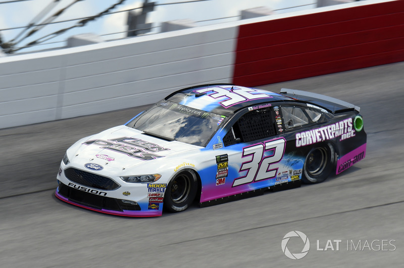 Matt DiBenedetto, Go FAS Racing, Ford Fusion Keen Parts/CorvetteParts.Net