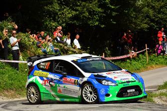 Gianluigi Niboli, Giuseppe Peli, Ford Fiesta WRC, Bs Sport Ssd
