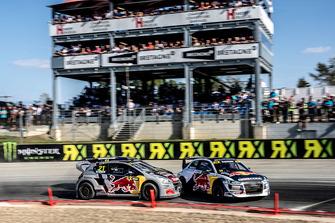 Andreas Bakkerud, EKS Audi Sport, Timmy Hansen, Team Peugeot Total
