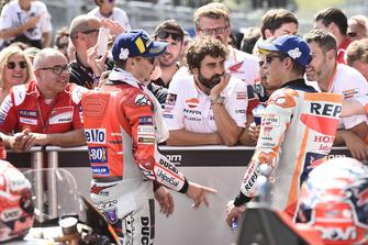 1. Jorge Lorenzo, Ducati Team, 2. Marc Marquez, Repsol Honda Team