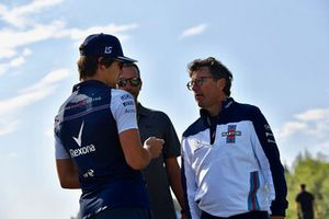 Lance Stroll, Williams camina por la pista