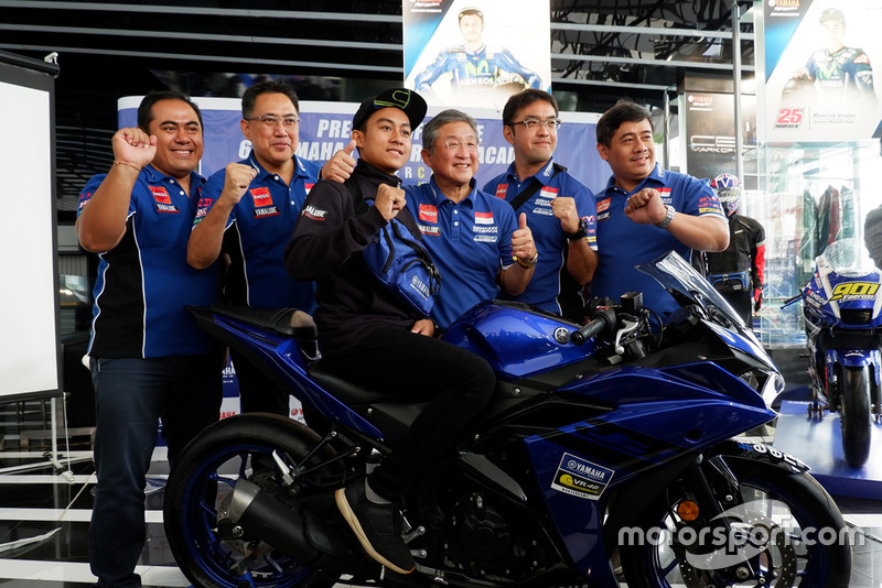 M Faerozi, Yamaha Racing Indonesia beserta manajemen PT. Yamaha Indonesia Motor Manufacturing (YIMM)