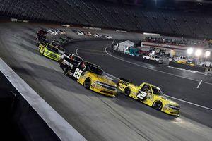 Cody Coughlin, GMS Racing, Chevrolet Silverado JEGS.com and Dalton Sargeant, GMS Racing, Chevrolet Silverado Performance Plus Motor Oil