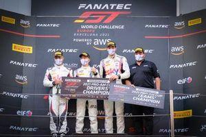 Champions Pro-Am, #93 SKY - Tempesta Racing Ferrari 488 GT3: Chris Froggatt, Jonathan Hui, Rino Mastronardi