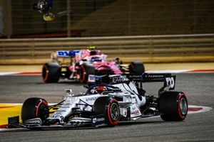 Daniil Kvyat, AlphaTauri AT01, Lance Stroll, Racing Point RP20