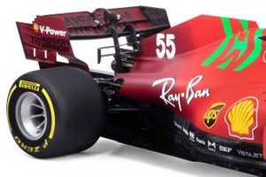 Детали Ferrari SF21