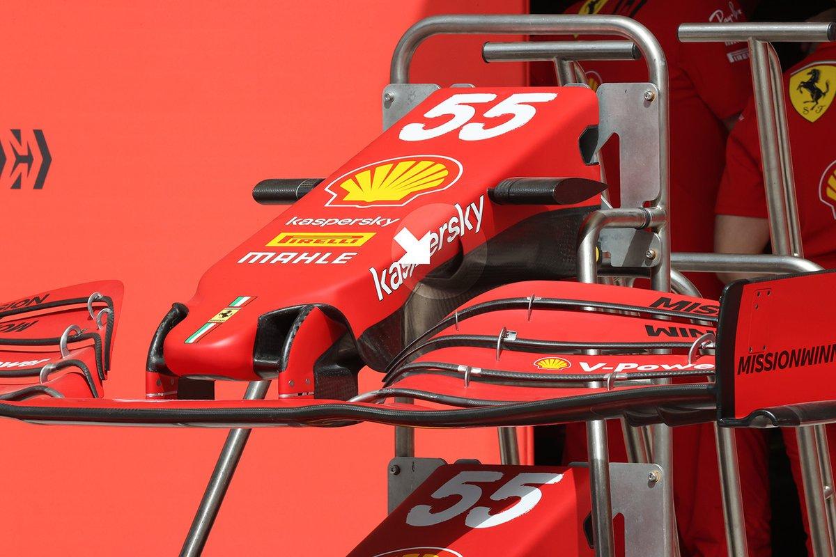 Ferrari SF21 S-duct detail