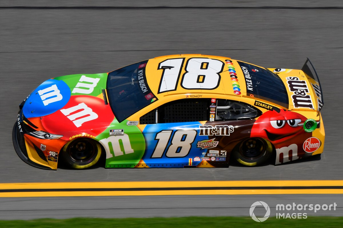 10. Kyle Busch - Joe Gibbs Racing