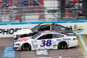 John Hunter Nemechek, Front Row Motorsports, Ford Mustang Fire Alarm Services, James Davison, Rick Ware Racing, Ford Mustang