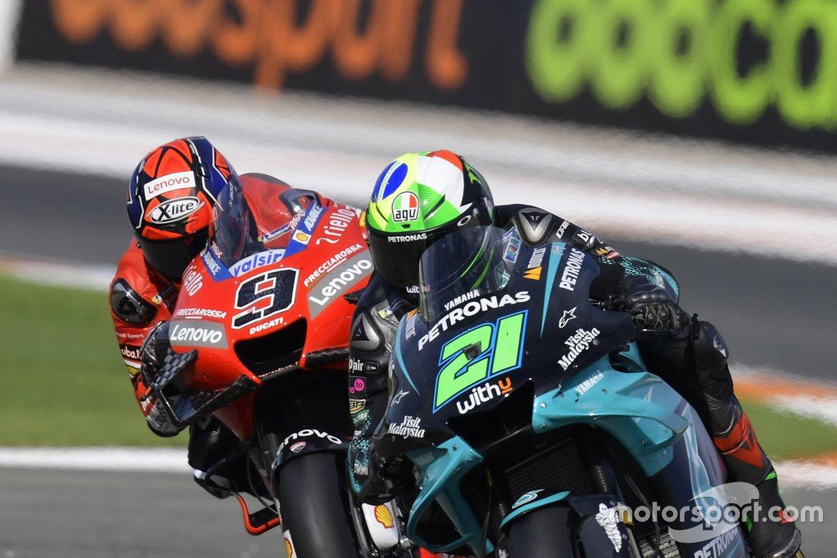 Franco Morbidelli, Petronas Yamaha SRT, Danilo Petrucci, Ducati Team