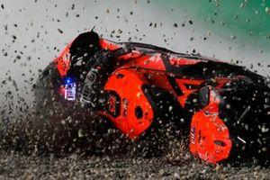 Sturz: Danilo Petrucci, KTM Tech 3