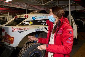 #349 Sodicars Racing Chevrolet: Monica Plaza