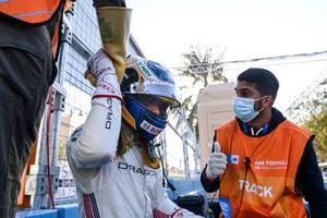 Sergio Sette Camara, Dragon Penske Autosport, with Marshals