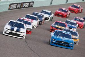 Austin Cindric, Team Penske, Ford Mustang PPG, Brett Moffitt, Our Motorsports, Chevrolet Camaro