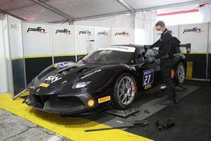 La Ferrari di Marco Pulcini, Rossocorsa-Pellin Racing