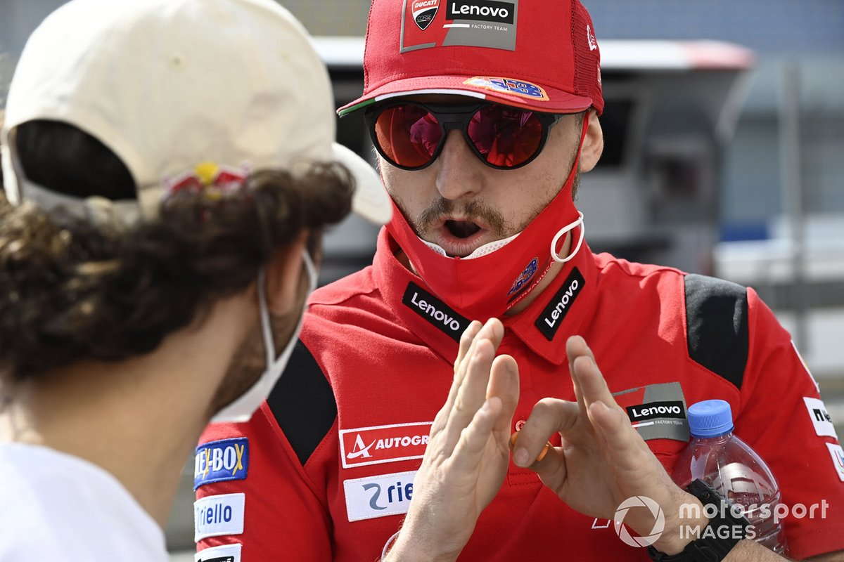 Enea Bastianini, Esponsorama Racing, Jack Miller, Ducati Team